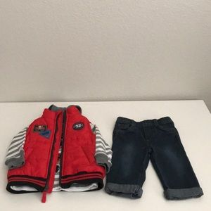 Baby boy 3 piece set.